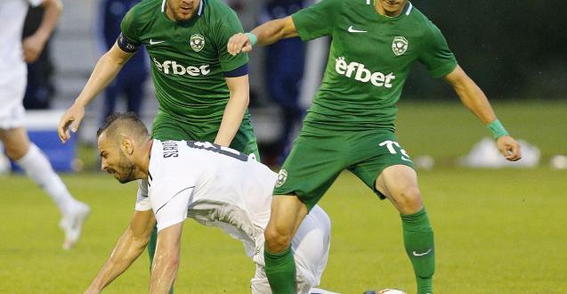 Българският шампион по футбол Лудогорец загуби с 0:3 от украинския