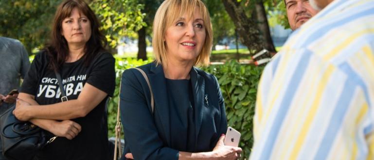Гражданският кандидат за кмет на София Мая Манолова и инициативният