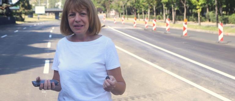 Столичният кмет Йорданка Фандъкова извършва проверка на ремонта на бул.