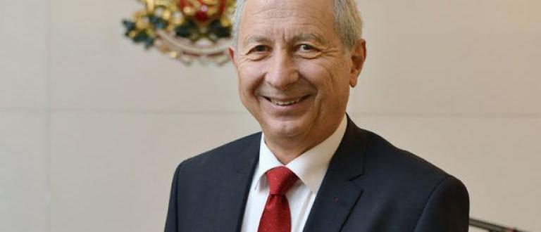 Проф. Огнян Герджиков, председател на 39 НС, служебен министър-председател през