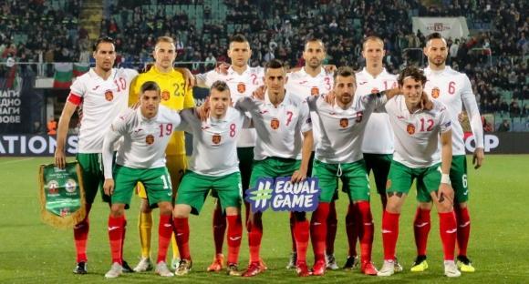 Точно в 30-ата минута на евроквалификацията България - Англия главния