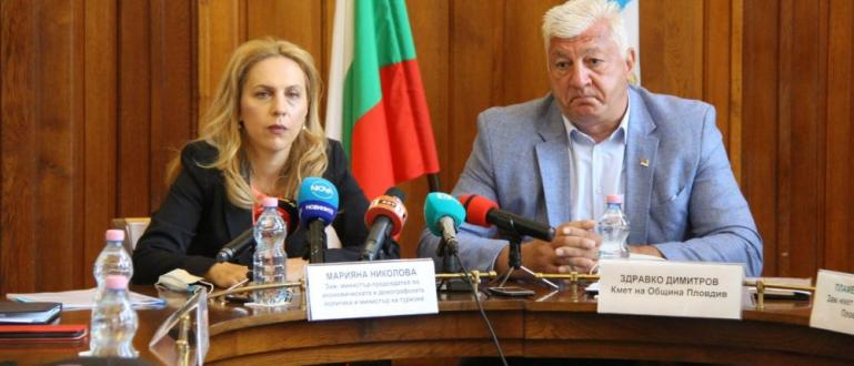 Министърът на туризма Марияна Николова обяви пред репортери в Пловдив,