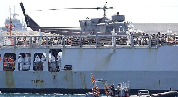 Били на плавателния съд от 19 дниСвой военен кораб до