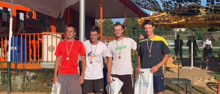 Завърши третият турнир от тенис веригата 17+. Той се проведе