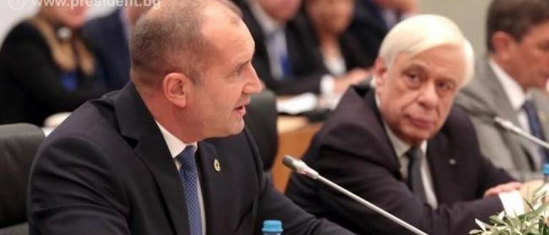 На срещата на държавните глави на парламентарните републики в Европейския