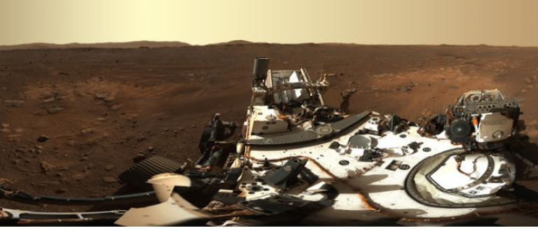 Марсоходът на НАСА Perseverance (