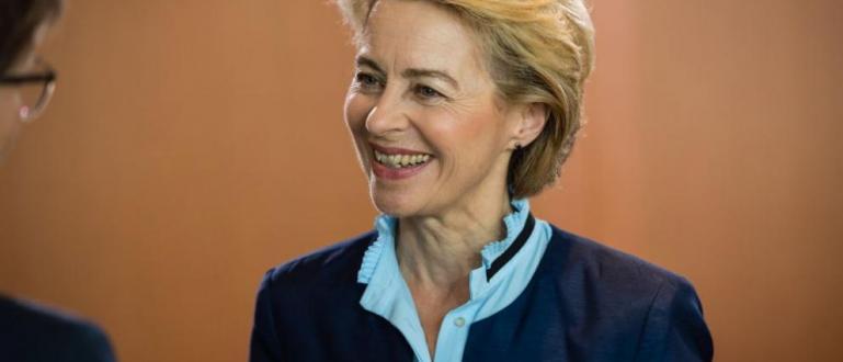 Новоизбраният председател на Европейската комисияУрсула фон дер Лайениска държавите от