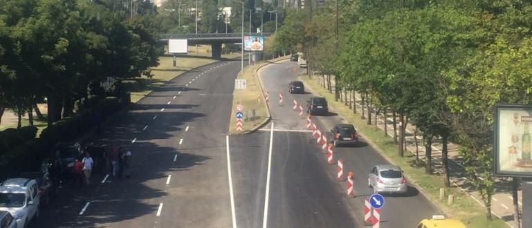 Снимка: Пускат движението по ремонтирания бул. България