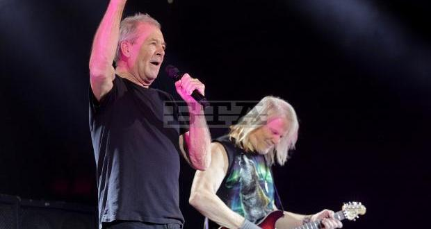 На средна възраст около 70 години, легендарната група Deep Purple