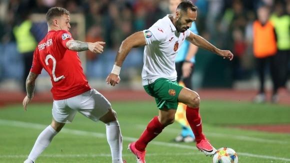 Националният отбор на България по футбол завърши годината в топ
