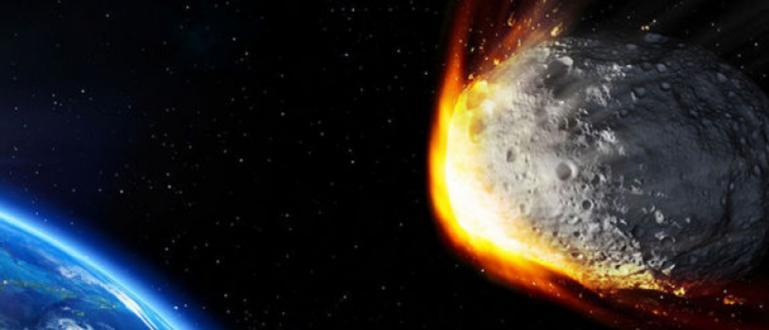 Масивен астероид със силата на 5-килотонна бомба падна в южната