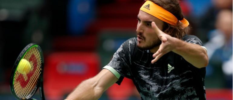 Най-добрият гръцки тенисист Стефанос Циципас продължи със силното си представяне