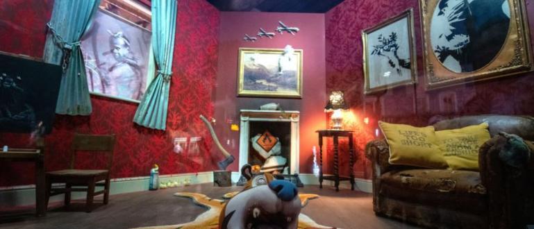 """Британският художник Анди Линк твърди, че скулптурата наБанкси """"Пияницата"""", която"""