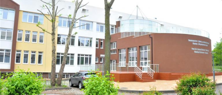 Факултетът по медицина в университет