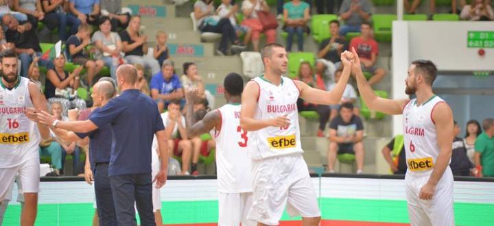 Мъжкият ни национален отбор по баскетбол записа второто си поредно