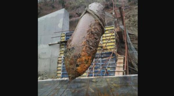 По време на строителството на магистрала в Черна гора е