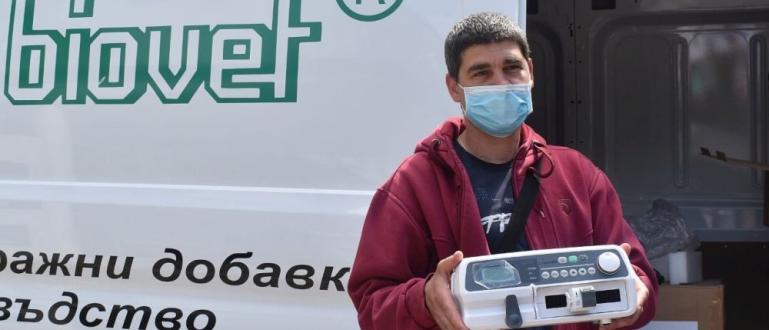 Поредно дарение от братята Кирил и Георги Домусчиеви получиха болниците