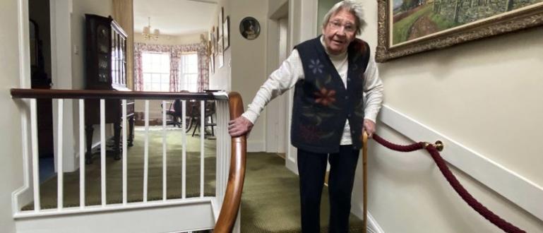 90-годишната Маргарет Пейн е изкачила еквивалента на планината Суилвен -