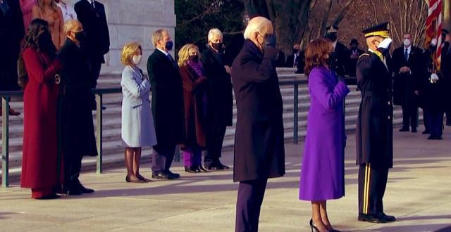 Президентът Джо Байдън, заедно с първата дама Джил Байдън посетиха