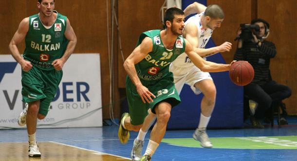 Баскетболният шампион на България Балкан победи вкъщи шведския Сьодертале Кингс