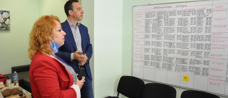 Кметът Димитър Николов посети днес новия офис на социалната услуга
