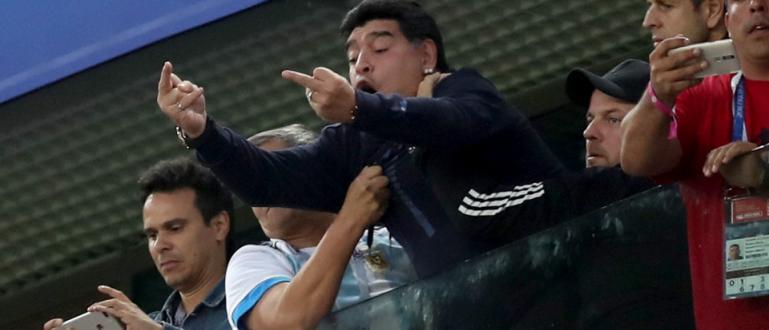Колкото и да беше велик с топката Диего Марадона бе