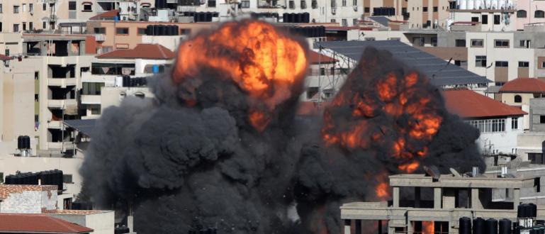 Израелската авиация удари в петък сградата на вътрешното министерство в