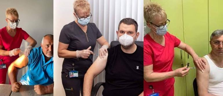 Коя е жената, която ваксинира Делян Пеевски, лидера на ГЕРБ