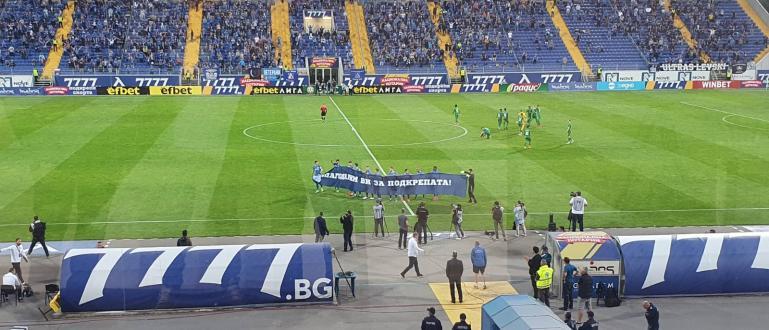 Българското футболно първенство, което рестартира вчера бе дадено за пример