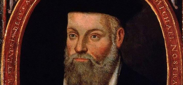 През 16-и век, когато вилнее Черната смърт, славата на ясновидеца