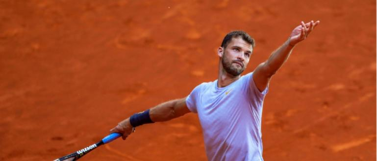 Най-добрият български тенисист Григор Димитров се изкачи с едно място