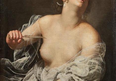 """""""Лукреция"""" – картината на художничката от 17 век Артемизия Джентилески,"""