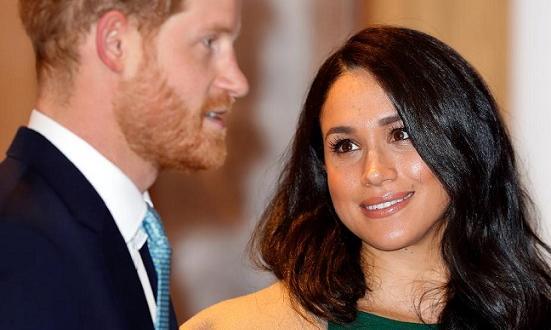 Меган Маркъл е забранила на принц Хари да пътува където