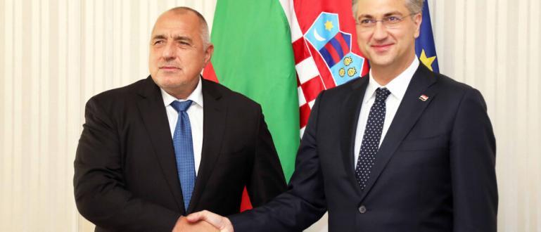 Премиерът Бойко Борисов се срещна с хърватския си колега Андрей