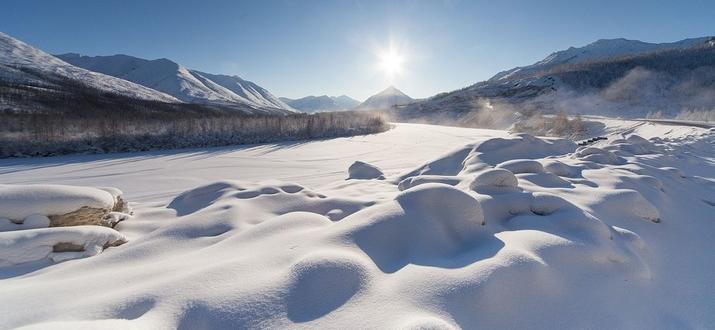 Температурите в сибирската част на Арктика достигнаха рекордни средни стойности