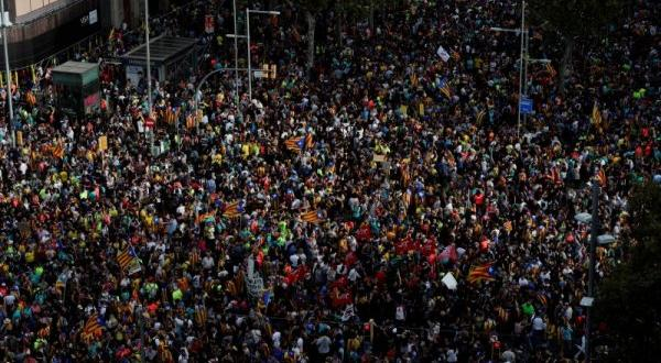 Снимка: Обща стачка парализира Барселона