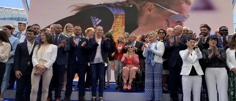 Председателят на БОК Стефка Костадинова бе част от специалните гости,