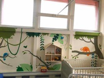 Интензивното отделение на Специализираната болница по детски болести в София
