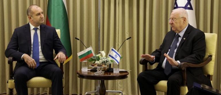 Президентът Румен Радев обсъди с израелски държавници проблема с водната