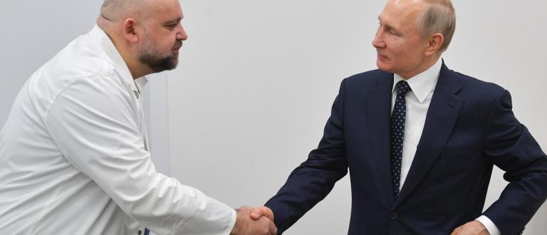 Денис Проценко, главният лекар в болница
