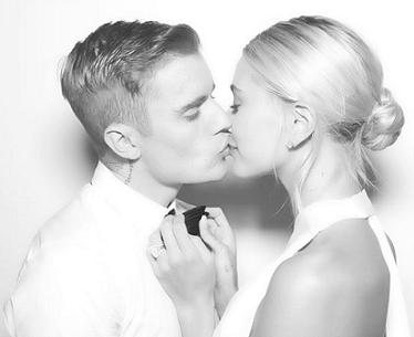 Снимка InstagramДжъстин Бийбър и Хейли Болдуин се венчаха за втори