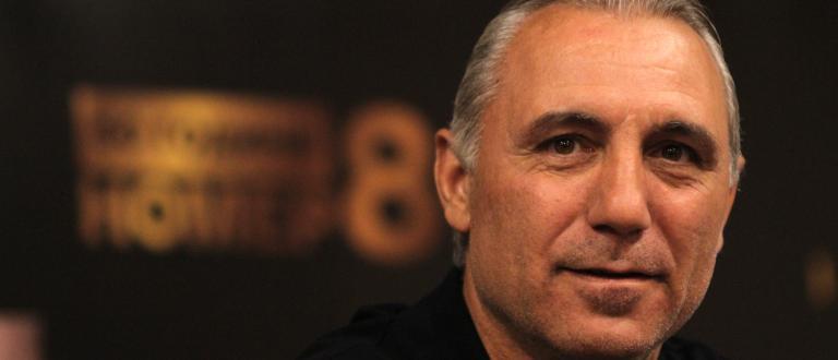 Най-успешният български футболист в историята Христо Стоичков се разплака в