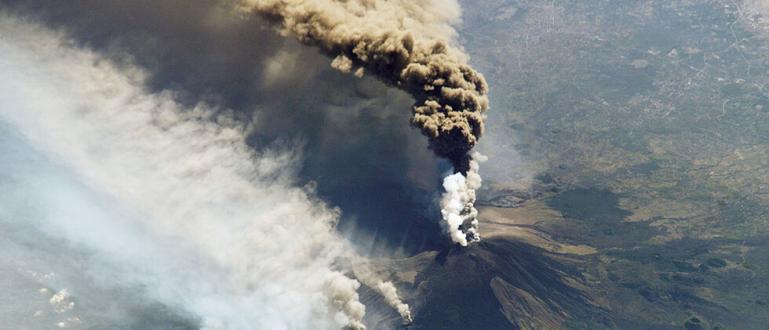 Снимка: Вулканът Етна отново изригна
