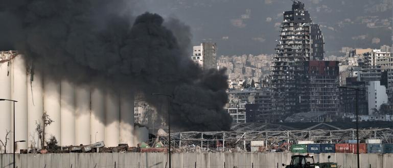 Ливан е в тридневен траур от днес след мощната експлозия