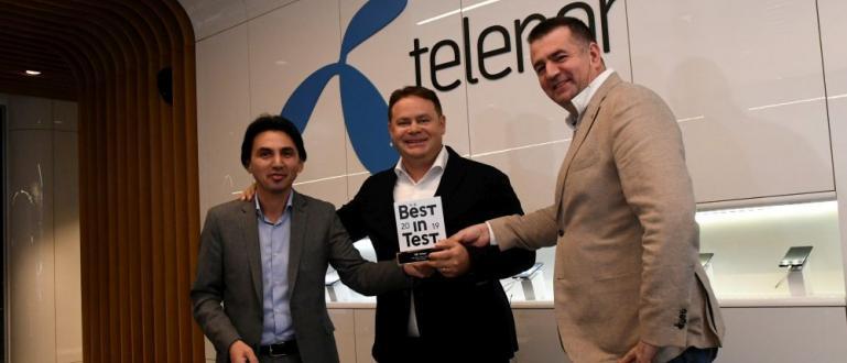 Мобилната мрежа на Теленор е посочена като Best in Test