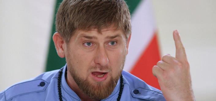 Президентът на Чечения Рамзан Кадиров на своя канал в социалната