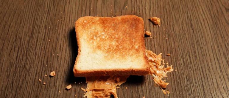 Отдавна съществува правило, че храна, която падне на пода, но