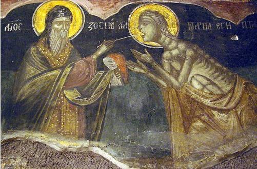 Преподобна Мария Египетска ни учи на праведен животТой минава през