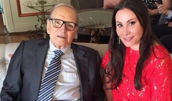 Дарина Павлова почете всоциалните мрежи Енио Мориконе, който почина на