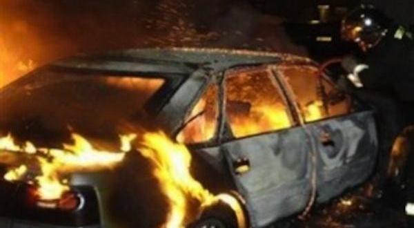 Газова бутилка на лек автомобил е избухнала при зареждане на